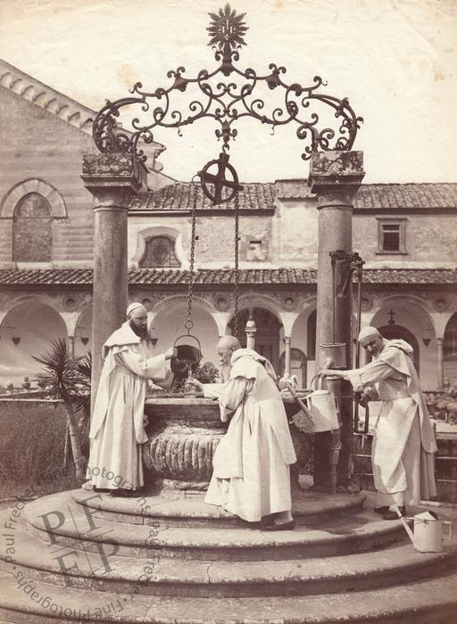 Carthusian monks in Florence