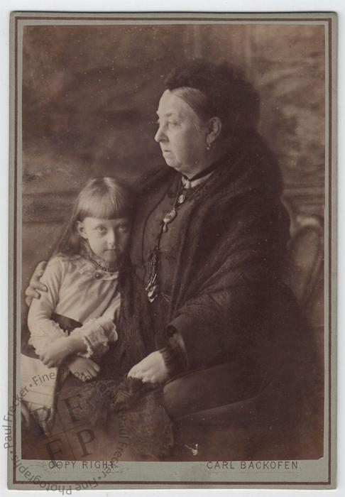 Queen Victoria and Princess Feodora