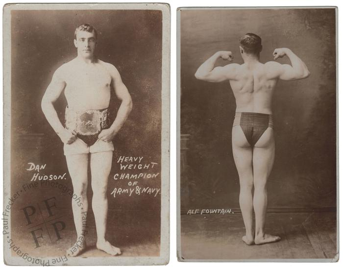 The heavyweight wrestling champion of the Army and Navy