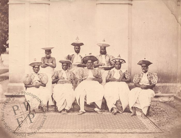 Group of Kandyan chiefs