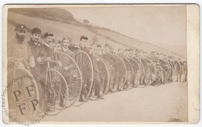 A meeting of cycling enthusiasts