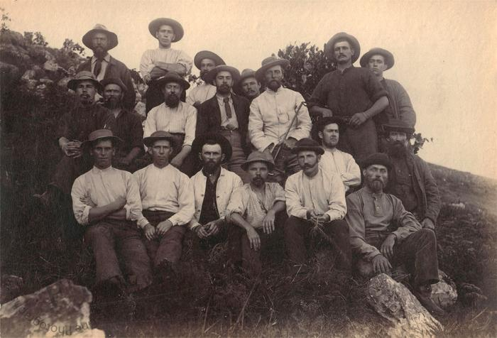 Cornish miners in South Africa