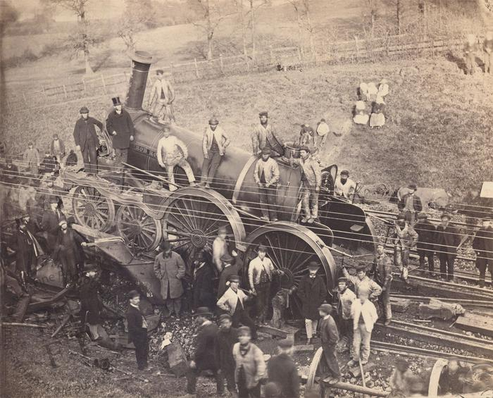 Railway disaster at Awse Junction, Gloucestershire