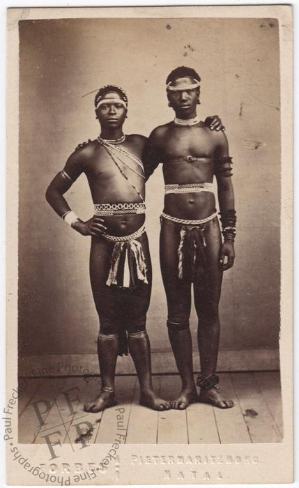Two Zulu men