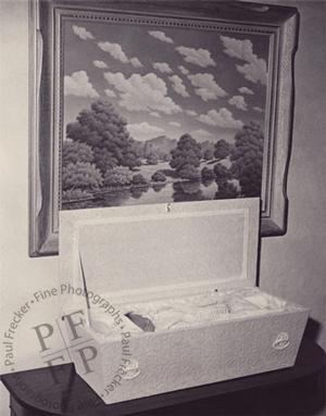 Baby and cloud painting, 1953