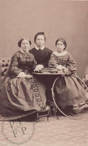 Mme de Rochetaillée and her daughters