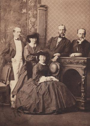 Archduke Rainier of Austria and family